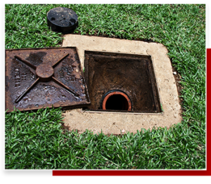 a technician performing sewer repair in Carson, CA